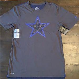 New! Dallas cowboys dri-fit shirt